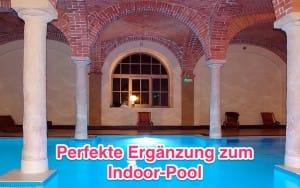 Hat nicht jeder: einen Indoor-Pool